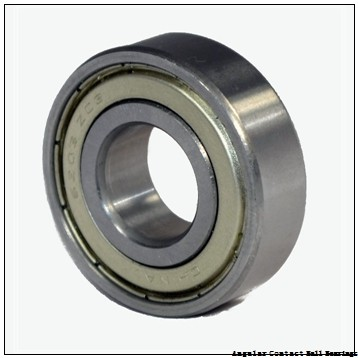 40 mm x 80 mm x 30.2 mm  SKF 3208 A-2RS1  Angular Contact Ball Bearings