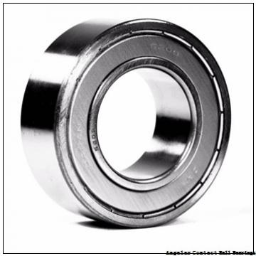 55 mm x 100 mm x 21 mm  TIMKEN 7211WN  Angular Contact Ball Bearings