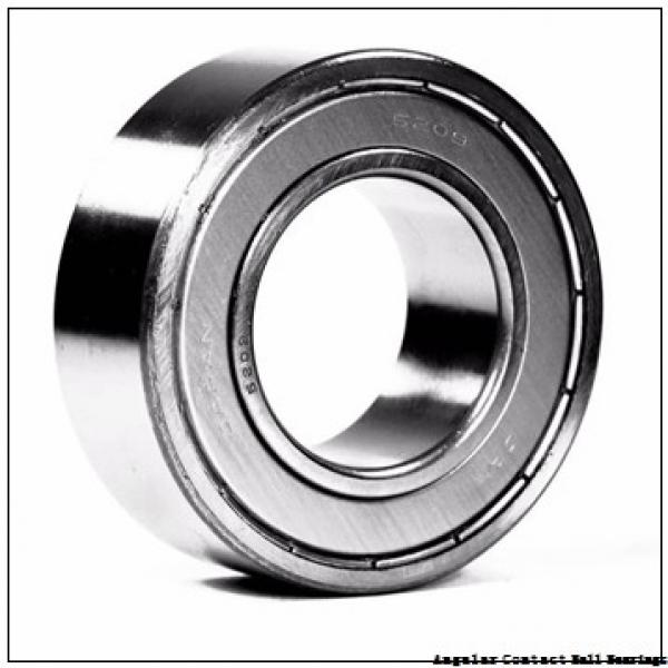 45 mm x 100 mm x 39.7 mm  SKF 3309 A  Angular Contact Ball Bearings #1 image